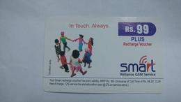 India-smart Card-(40f)-(rs.99)-(siliguri)-(1/1/2007)-(look Out Side)-used Card+1 Card Prepiad Free - India