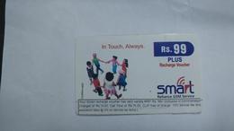 India-smart Card-(40g)-(rs.99)-(siliguri)-(1/6/2007)-(look Out Side)-used Card+1 Card Prepiad Free - India