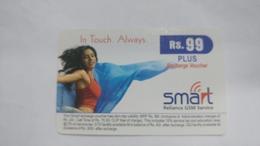 India-smart Card-(40h)-(rs.99)-(siliguri)-(1/6/2006)-(look Out Side)-used Card+1 Card Prepiad Free - India