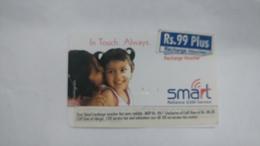 India-smart Card-(40i)-(rs.99plus)-(siliguri)-(1/6/2006)-(look Out Side)-used Card+1 Card Prepiad Free - India
