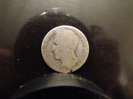 RARE 1 FRANC 1844 BELGIQUE - 1934-1945: Leopold III