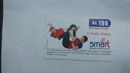 India-smart Card-(40m)-(rs.199)-(siliguri)-(no Date)-(look Out Side)-used Card+1 Card Prepiad Free - India