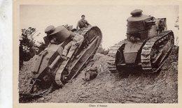 Camp De La Courtine  -  Chars D'Assaut   -  CPA - War 1914-18