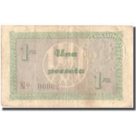 Billet, Espagne, 1 Peseta, CODINES DEI VALLES, 1937, TTB - Espagne