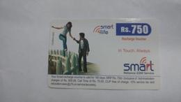 India-smart Card-(40p)-(rs.750)-(siliguri)-(1.6.2006)-(look Out Side)-used Card+1 Card Prepiad Free - India