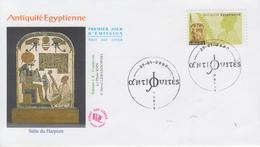 Enveloppe  FDC  1er  Jour    FRANCE   Antiquités   Egyptiennes   2007 - Egyptology
