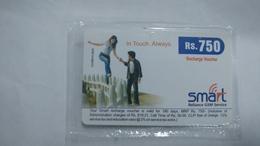 India-smart Card-(40q)-(rs.750)-(siliguri)-(31.12.2007)-(look Out Side)-mint Card+1 Card Prepiad Free - India