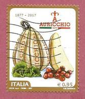ITALIA REPUBBLICA USATO - 2017 - 140º Anniversario Della Fondazione Di Gennaro Auricchio - € 0,95 - S. 3752 - 6. 1946-.. Repubblica