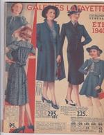 Aux Galeries Lafayette - Catalogue Général Été 1940 - Mode,accessoires,décoration... - Publicités