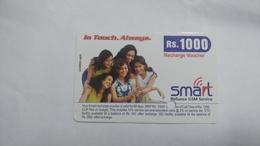 India-smart Card-(40s)-(rs.1000)-(siliguri)-(1.1.2006)-(look Out Side)-used Card+1 Card Prepiad Free - India