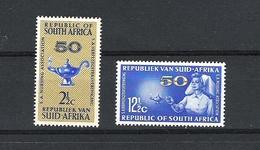 SOUTH AFRICA 12th OCTOBER 1964 50th ANNIV. OF NURSING ASS. SG.256/57 MNH - Afrique Du Sud (1961-...)