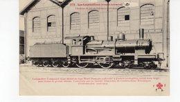 LES LOCOMOTIVES (Alsace Lorraine) Chemins De Fer De L'Alsace Lorraine Pour Trains De Grande Vitesse. - Trains