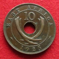 Africa East 10 Cents 1925 Afrika Afrique #2 - Münzen
