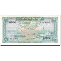 Billet, Cambodge, 1 Riel, KM:4c, SUP+ - Cambodge