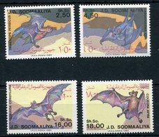 1985- SOMALIA-BATS - 4 VAL.  M.N.H.- LUXE !! - Somalia (1960-...)