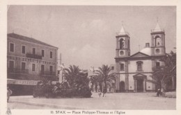 SFAX  -PLACE PHILIPPE-THOMAS ET L'EGLISE - Tunisia