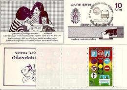 THAILAND, Booklet 98, 1988, Traffic Safety - Thaïlande