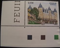 Lot 1898 - 2008 - JOSSELIN (Morbihan) - N°4281 NEUF** COIN DE FEUILLE - France