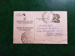 (12919) ITALIA STORIA POSTALE 1962 - 1961-70: Storia Postale