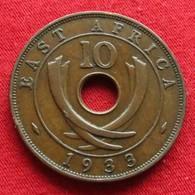 Africa East 10 Cents 1933 Afrika Afrique - Monnaies