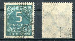 D. Reich Michel-Nr. 274 Gestempelt - Geprüft - Oblitérés