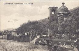 VALDICASTELLO  -PIETRASANA - LA  CHIESA   CARTE ANIMEE - Italie
