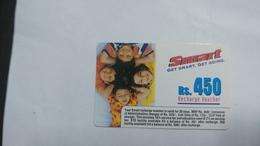 India-smart Card-(41c)-(rs.450)-(siliguri)-(1.1.2006)-(look Out Side)-used Card+1 Card Prepiad Free - India