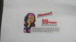 India-smart Card-(41e)-(rs.99power)-(siliguri)-(1.1.2006)-(look Out Side)-used Card+1 Card Prepiad Free - India