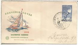 AUSTRALIA CC JUEGOS OLIMPICOS DE MELBOURNE 1956 MAT ESTADIO OLIMPICO - Sommer 1956: Melbourne