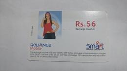 India-smart Card-(42)-(rs.56)-(siliguri)-(31.3.2007)-(look Out Side)-used Card+1 Card Prepiad Free - India