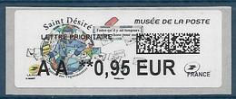 Lisa 2 Saint Désiré Lettre Prioritaire AA 0.95  - Musée De La Poste (2018) Neuf** - 2010-... Vignettes Illustrées