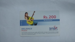 India-smart Card-(42a)-(rs.200)-(siliguri)-(31.12.2007)-(look Out Side)-used Card+1 Card Prepiad Free - India