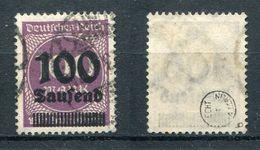D. Reich Michel-Nr. 289b Gestempelt - Geprüft - Used Stamps