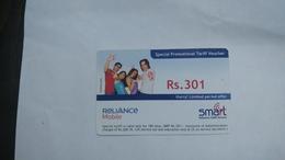 India-smart Card-(42b)-(rs.301)-(siliguri)-(30.6.2007)-(look Out Side)-used Card+1 Card Prepiad Free - India