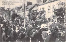 EVENEMENTS ( PARDON DES FLEURS D'AVEN ) 29 PONT AVEN - Arrivée Du Cortège Au Concours De Reine De Biniou  CPA Finistère - Eventos