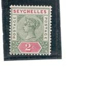 SEYCHELLES1890:Scott 1mh* - Seychelles (...-1976)