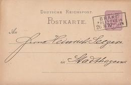 DR Ganzsache R3 Brake Zollverein 26.8.79 - Deutschland