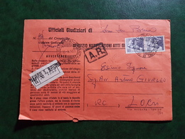 (12962) ITALIA STORIA POSTALE 1963 - 1961-70: Storia Postale