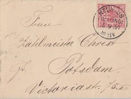 DR Brief EF Minr.47 KOS Neuhaus (Solling) 13.9.91 - Deutschland