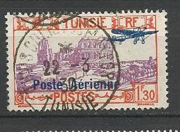 TUNISIE PA  N° 7 OBL TB - Luchtpost