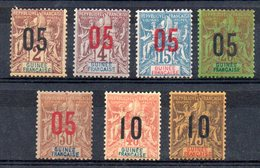 GUINEE - YT N° 48 à 54 - Neufs * - MH - Cote 26,50 € - French Guinea (1892-1944)