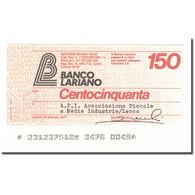 Billet, Italie, 150 Lire, 1977, 1977-01-10, NEUF - [10] Chèques