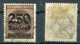 D. Reich Michel-Nr. 294 Gestempelt - Geprüft - Used Stamps