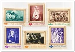 Roemenië 1966, Postfris MNH, Paintings - 1948-.... Republieken