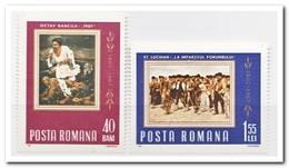 Roemenië 1967, Postfris MNH, Paintings - 1948-.... Republieken