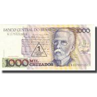 Billet, Brésil, 1 Cruzado Novo On 1000 Cruzados, Undated (1989), KM:216a, SUP - Brésil