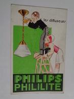 Les Diffuseurs PHILIPS Phililite - Reclame