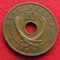 Africa East 10 Cents 1952 Afrika Afrique - Münzen