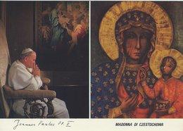 Pope - Joannes Paulus - Madonna Di Czestochowa.    B-3401 - Popes