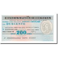 Billet, Italie, 200 Lire, 1976, 1976-11-15, NEUF - [10] Chèques